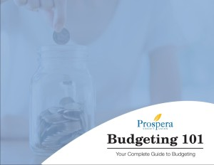 Prospera Budgeting 101 eBook cover